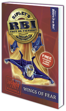 RBI Series - Book 5: Wings of Fear